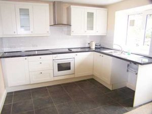 Refurbished kitchen units