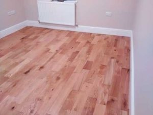 Solid oat laminate flooring